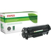 Staples® Remanufactured Black Toner Cartridge, Canon 104 (0263B001AA )