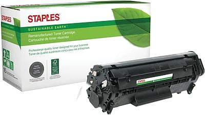 Staples® Remanufactured Black Toner Cartridge, Canon 104 (0263B001AA )