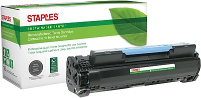 Staples® Remanufactured Black Toner Cartridge, Canon 106 (0264B001AA)