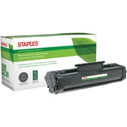 Staples® Remanufactured Laser Toner Cartridge, HP 06A (C3906A), Black