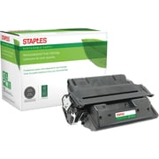 Sustainable Earth by Staples® Remanufactured Black Laser Toner Cartridge, HP 27X (C4127X), High Yield