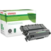 Staples® Reman Laser Toner Cartridge, Panasonic UG3313, Black