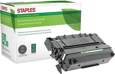 Staples® Reman Laser Toner Cartridge, Panasonic UG3313, Black