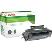 Staples® Reman Laser Toner Cartridge, Panasonic UG3350, Black
