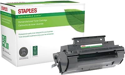 Staples® Reman Laser Toner Cartridge, Panasonic UG3350, Black