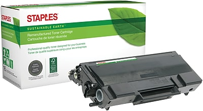Staples® Remanufactured Laser Toner Cartridge, Brother TN650 (TN-650), Black, High Yield