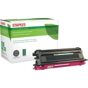 Staples® Sustainable Earth - Cartouche de toner magenta, remise à neuf, compatible Brother TN115C, rendement élevé (SEBTN115M)