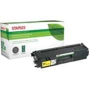 Staples® Remanufactured Color Laser Toner Cartridge, Brother TN315 (TN-315Y), Yellow, High Yield