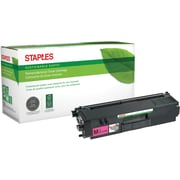 Staples® Remanufactured Color Laser Toner Cartridge, Brother TN315 (TN-315M), Magenta, High Yield