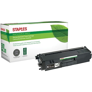 Sustainable Earth by Staples Remanufactured Black Toner Cartridge, Brother TN-315BK, High Yield