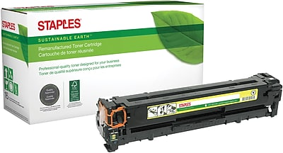 Staples® Canon 116 Remanufactured Yellow Laser Toner Cartridge (1977B001AA)