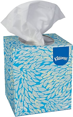 Kleenex® Boutique™ Cube Box Facial Tissues, 2-Ply, White, 95/Box, 36 Boxes/Case (21271)