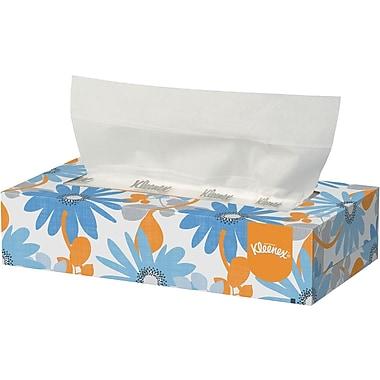 Kleenex® Flat Box Facial Tissue, 2-Ply, 36/Case