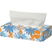 Kleenex® 2-Ply Flat Box White Facial Tissues 100 Tissues/Box (21400)