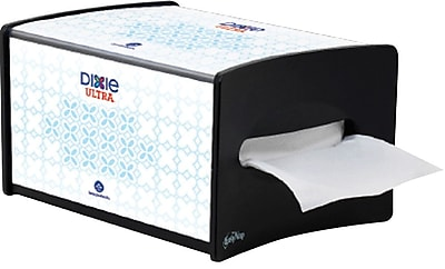 Dixie Ultra™ Countertop Interfold Napkin Dispenser, Black