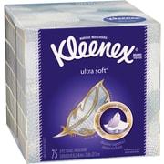 Kleenex® Ultra Facial Tissue Upright, 75 Tissues/Box, 27 Boxes/Case (25824)