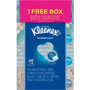 Kleenex® Facial Tissues, 2-Ply, 4 Boxes/Pk