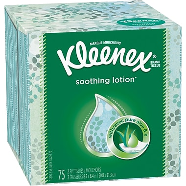 Kleenex® Lotion Facial Tissues, 2-Ply, 27/Case