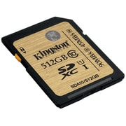 Kingston® SDA10/512GB Class 10 UHS-I 512GB SDXC Flash Memory Card
