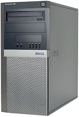 Refurbished Dell GX960 Tower Intel Core 2 Duo 3.0 8GB RAM 1TB HDD Windows 10 Home