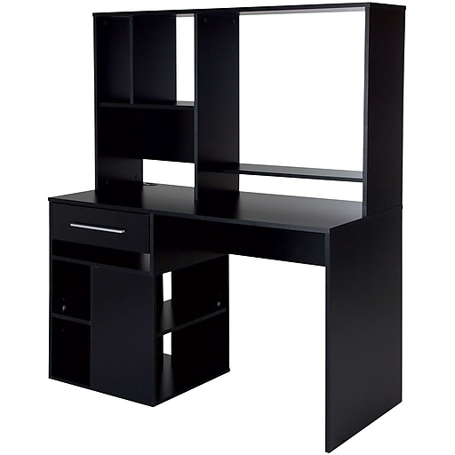 Shop Staples For Annexe Home Office Computer Desk, Pure Black