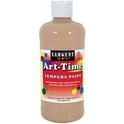 Sargent Art Art-Time Non-Toxic Tempera Paint, 16 oz., Peach (SAR176487)