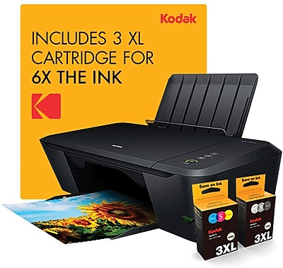 KODAK VERITE 55 Mega Cartridge Bundle Wireless All-In-One Inkjet Printer (JF233UA)