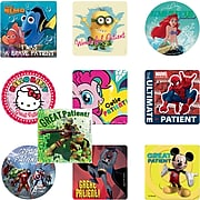 "SmileMakers® Medical Licensed Character Sticker Sampler; Assorted Designs, 2-1/2"" Stickers, 1,000 Total Stickers (MCSS-R)"