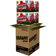 Brawny® 6 Large Pick-A-Size Paper Towel Rolls, 2-Ply, 6 Rolls/Pack, 4 Pks/Case, 24 Rolls/Case (43910)