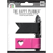 Me & My Big Ideas The Happy Planner Pen Holders, Pink/Black (PH-01)