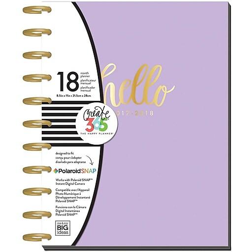 2017-2018 Hello Lavender Big Happy Planner