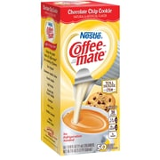 Nestle® Coffee-mate® Coffee Creamer, Toll House® Chocolate Chip Cookie, .375 Oz. Liquid Creamer Singles, 50 Count