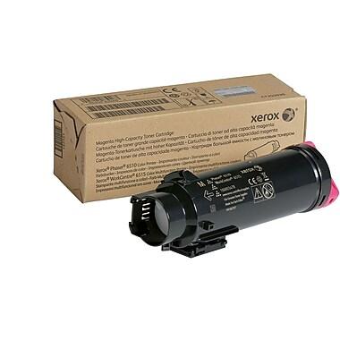 Xerox Phaser 6510/WorkCentre 6515 Magenta Toner Cartridge, High Yield (106R03478)
