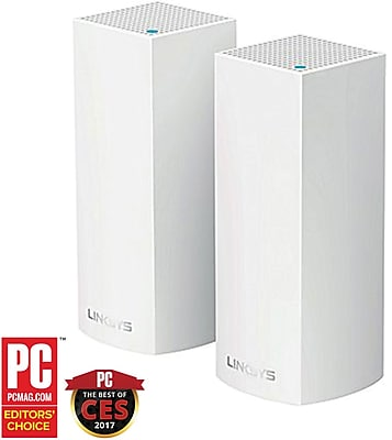 Linksys Velop Whole Home Mesh WiFi System (2-Pack)