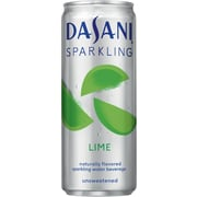 Dasani Sparkling Lime 12 Oz. Cans, 24/Pack (00049000068849)