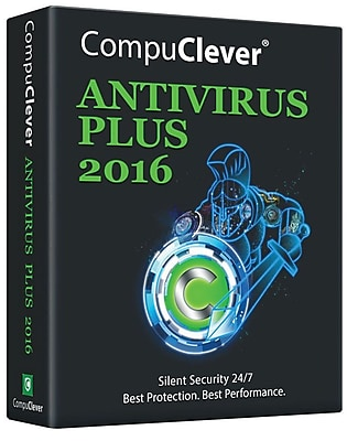 CompuClever Antivirus PLUS for Windows (1-3 Users) [Download]