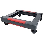 "Staples Collapsible Dolly, 19.5"" x 19.5"" x 5.25"", Black, Each (44790)"