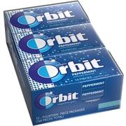 Orbit® Sugar-Free Gum, Peppermint, 12 Packs/Box