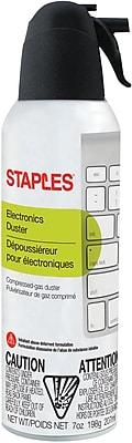 Staples Electronics Duster, 7 oz., Single(SPL07ENFR-1)