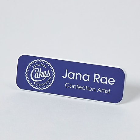 Name Badges and Tags Engraved Name Badges