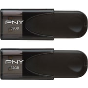 PNY 2-PACK 32GB USB 2.0