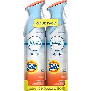 Febreze® AIR™ Freshener Spray, Tide, 8.8 oz., Twin Packs