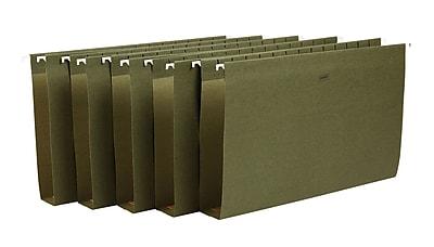 Staples® Box-Bottom Hanging File Folders, Letter, 2