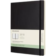 MOLESKINE 18M WEEKLY NOTEBOOK XL BLACK SC