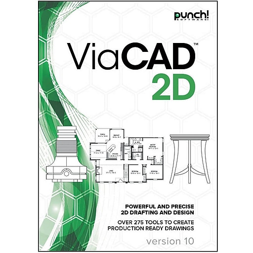 Encore Punch! ViaCAD 2D v10 for Mac (1 User) [Download]