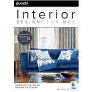 Encore Punch! Interior Design for Mac v19 (1 User) [Download]