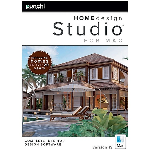 Encore Punch! Home Design Studio For Mac V19 (1 User