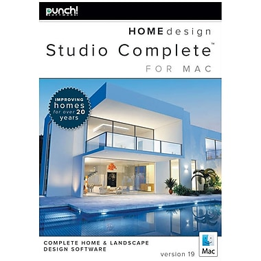 Punch Home Design Amazoncom Encore Punch Home Design Studio Complete For  Mac V19 1 User Download