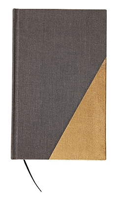 DwellStudio Fabric Journal, Black Gold (45096)