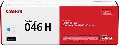 Canon 046 H XL Cyan Toner Cartridge, High Yield (1253C001)